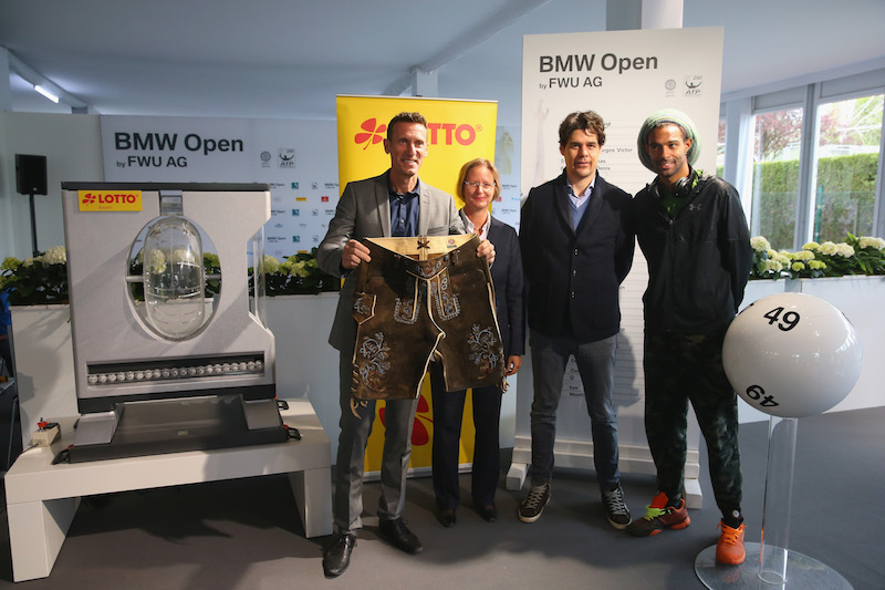 """MUNICH, GERMANY - APRIL 23:  General view during the draw for the BMW Open at Iphitos tennis club on April 23, 2016 in Munich, Germany.  (Photo by Alexander Hassenstein/Getty Images For BMW)"""