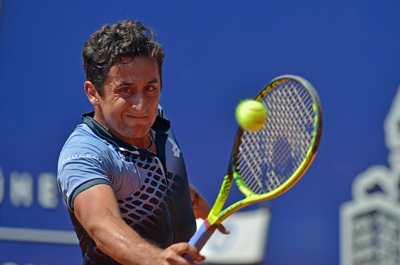 KITZBUEHEL,AUSTRIA,07.AUG.15 - TENNIS - ATP World Tour, Generali Open. Image shows Nicolas Almagro (ESP). Photo: GEPA pictures/ Hans Osterauer